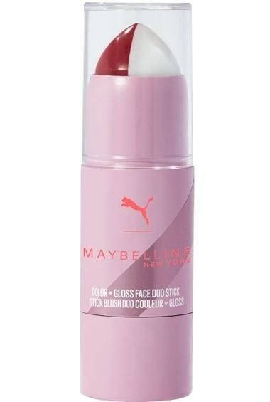 PUMA x Maybelline Face Duo Stick Ρουζ με λάμψη